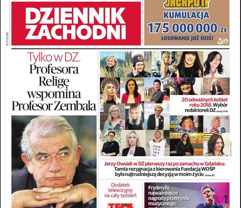 20 odważnych kobiet roku 2018 z woj. śląskiego